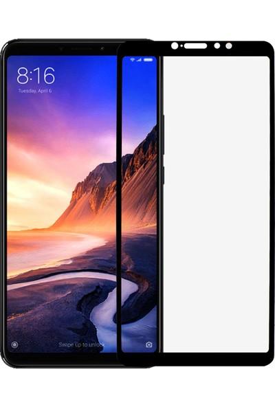 Microlux Xiaomi Mi Max 3 Ekran Koruyucu 9D Tam Kaplama