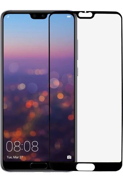 Microlux Huawei P20 Pro Ekran Koruyucu 9D Tam Kaplama