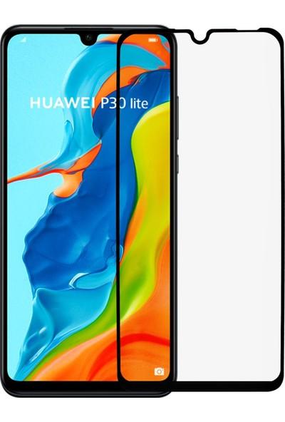 Microlux Huawei P30 Lite Ekran Koruyucu 9D Tam Kaplama