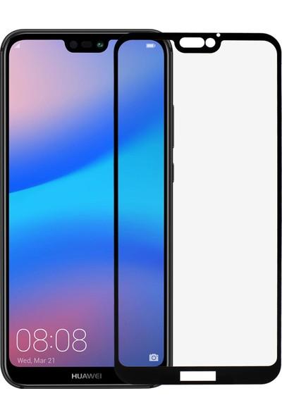 Microlux Huawei P20 Lite Ekran Koruyucu 9D Tam Kaplama