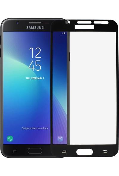 Microlux Samsung J7 Prime SM-G610 Ekran Koruyucu 9D Tam Kaplama