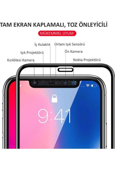 Microlux iPhone XR Ekran Koruyucu 9D Tam Kaplama