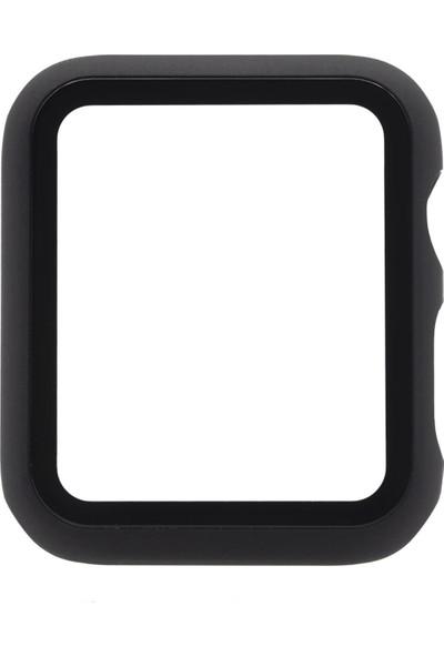 Microlux Apple Watch 38mm Kasalı Ekran Koruyucu Tam Kaplama