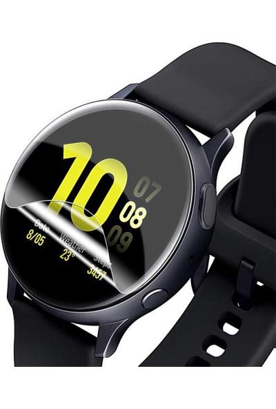 Microlux Samsung Watch Active 2 44mm Ekran Koruyucu Nano Tam Kaplama