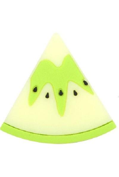 Microlux Microlux Karpuz Karikatürlü Silikon Kablo Koruyucu Yeşil