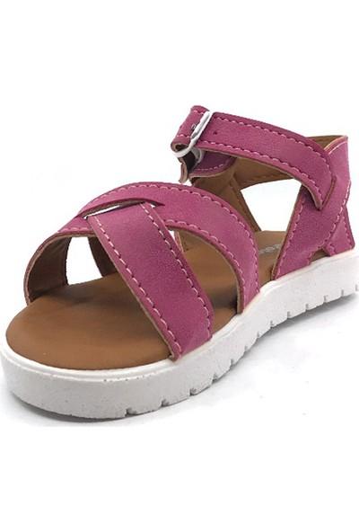 Polaris 508159. P Fuşya Günlük Kız Çocuk Sandalet