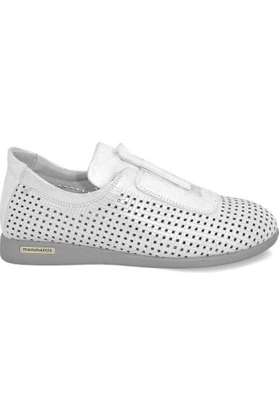 Mammamia D20YA-4005 Deri Kadın Ayakkabı