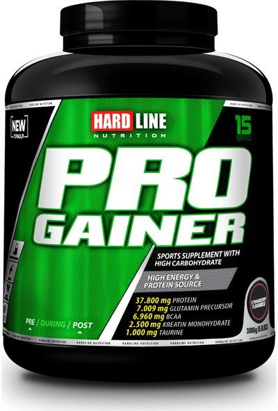 Hardline Nutrition Progainer 3000 gr. Çilek
