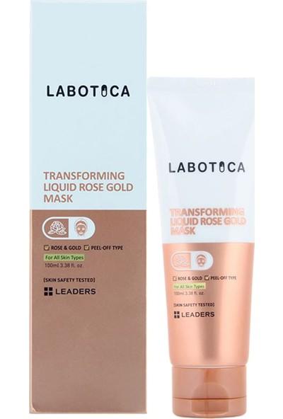 Leaders Labotica Gül ve Altın Özlü Soyulabilir Maske