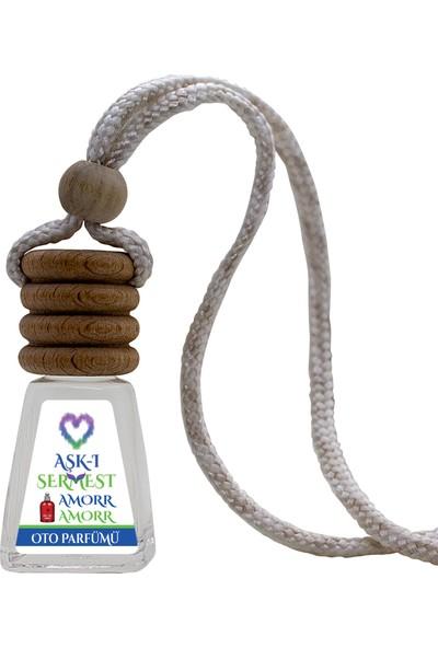 Aşk-ı Sermest, Amorr Amorr, Çiçek Aromalı Oto / Araç Kokusu Parfüm, Piramit Şişe, 12 mL