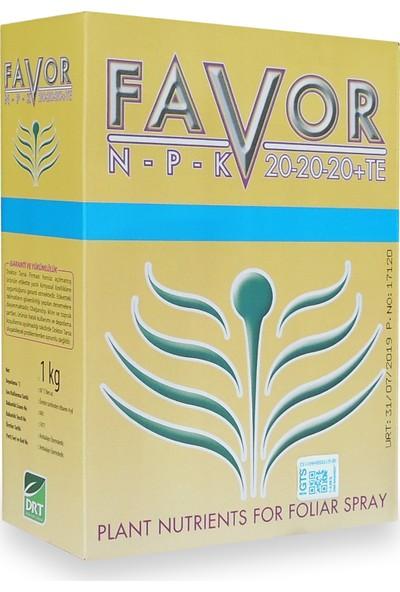 Drt Favor Npk 20-20-20+Te Harmanlanmış Yaprak Gübresi 1 kg