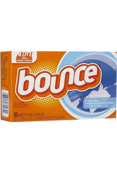 Bounce Fresh Linen Yumuşatıcı 80 Kullanımlık