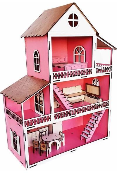 Woody Life Ahşap Oyuncak Ev