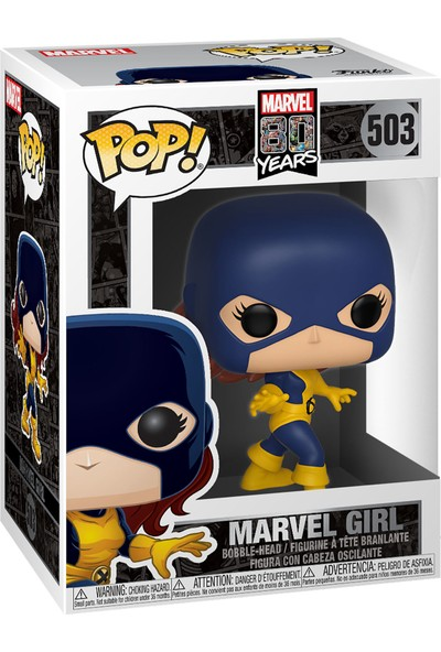 Funko POP Figür - Marvel 80th First Appearance, Marvel Girl LE