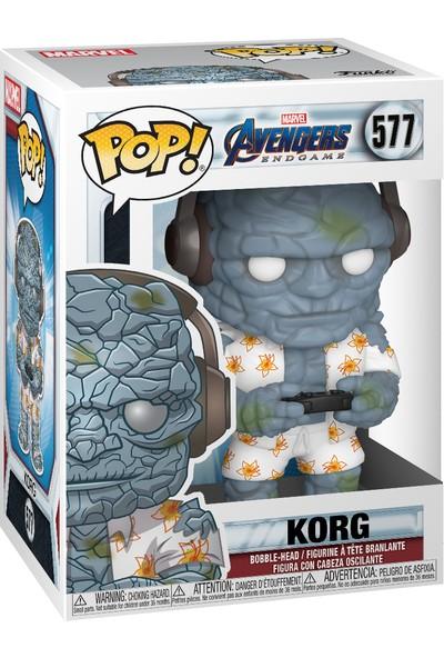 Funko POP Figür - Marvel Avengers Endgame, Gamer Korg