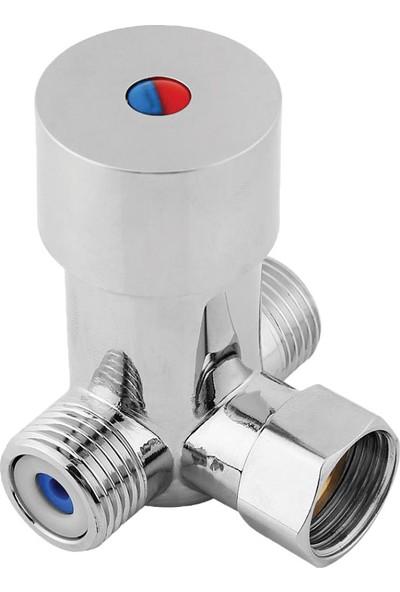 Truva Gölge Fotoselli Batarya Sıcak & Soğuk Su Karıştırıcı