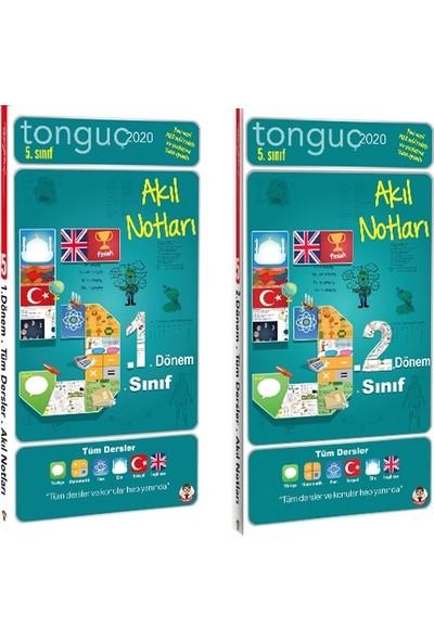 Tonguç Akademi 5. Sınıf 1. Dönem ve 2. Dönem Akıl Notları Seti 2 Kitap