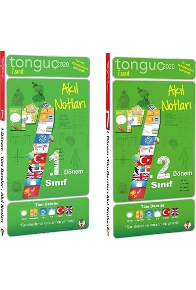 Tonguç Akademi 7. Sınıf 1. Dönem ve 2. Dönem Akıl Notları Seti 2 Kitap