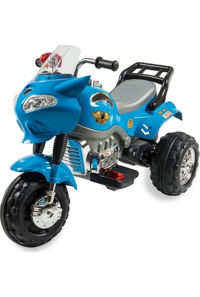 Aliş Akülü Dev Çocuk Motor - Mavi