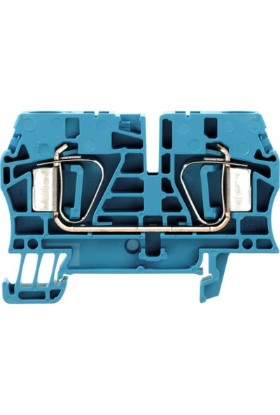 Weidmuller Yay Baskılı Klemens Mavi 6 mm