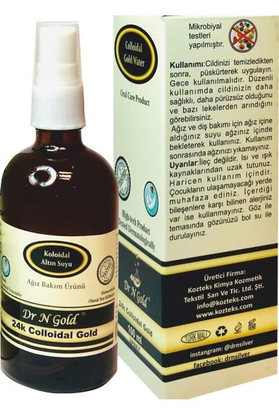 Dr N Gold Kolloidal Altın Sprey - Ağız Bakım Spreyi 100 ml-20 ppm