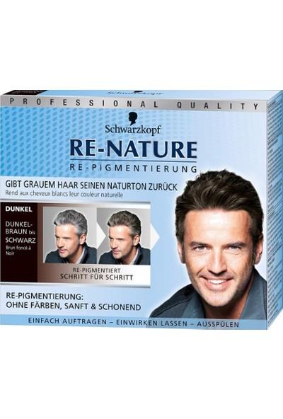 Schwarzkopf Re-Nature Saç Beyazlarını Düzenleyici Pigment Erkek - Koyu Saçlar
