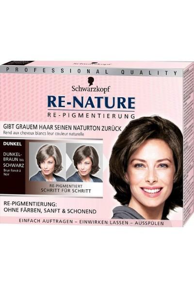 Schwarzkopf Re-Nature Saç Beyazlarını Düzenleyici Pigment Kadın - Koyu Saçlar