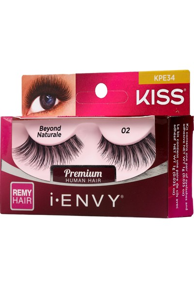 Kiss I-Envy Takma Kirpik - Natural 02