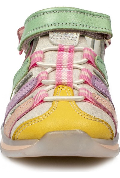 Perlina 216B Renkli Çok Renkli Çocuk Sandalet
