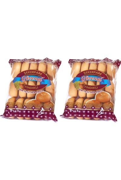 Güvenal Fındıklı Şekerpare 240 gr x 2 Paket