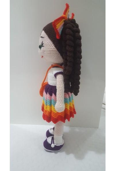 Arf Amigurumi El Yapımı Bebek Renkli