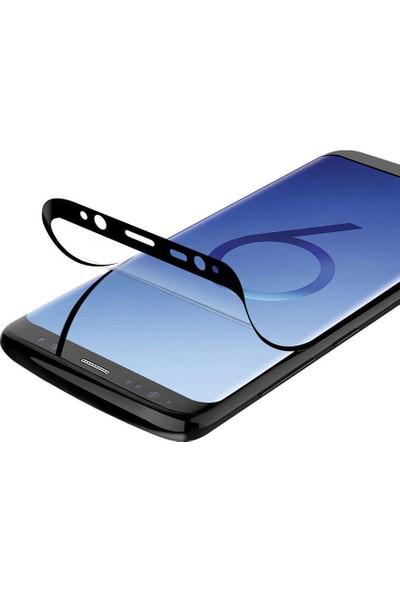 Gezegen Aksesuar Samsung Galaxy S9 Plus Ekran Koruyucu Tam Kaplama Nano Flexible Film 6d Ince