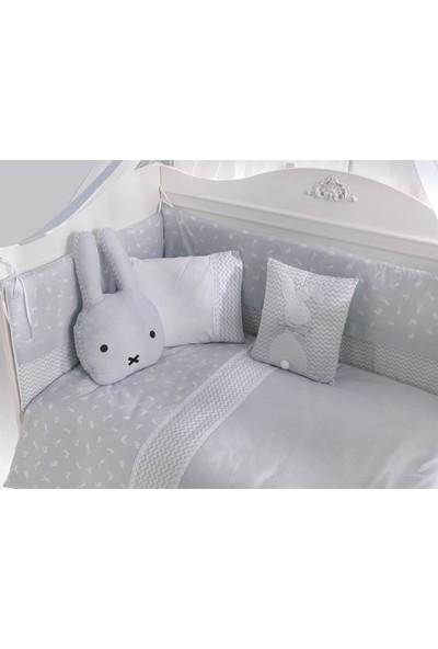 Kanz Bunny Bebek Uyku Seti Mavi 75 x 130 cm