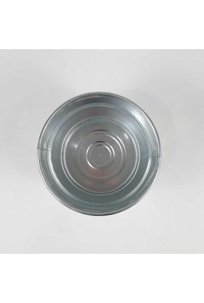 Fidan Burada Irelia Metal Saksı 21 cm