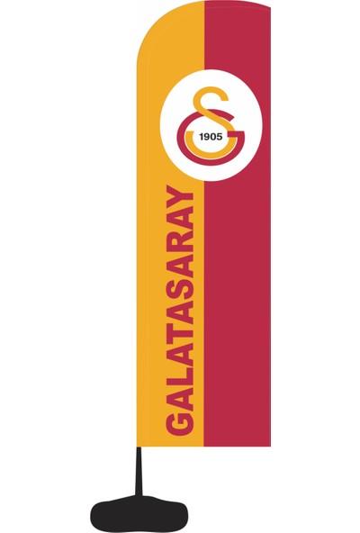 Reklamediyoruz Galatasaray Yazılı Yelken Bayrak