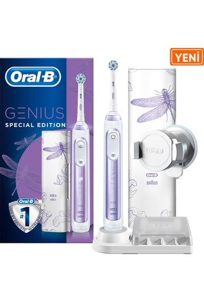 Oral-B Genius Dragonfly Orchid Purple Pro 10000 Şarj Edilebilir Diş Fırçası