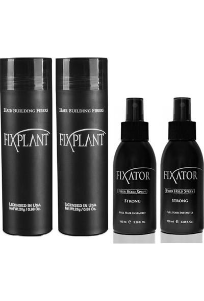 Fixplant 2 Set Kızıl Saç Tozu + Fixator Sabitleyici Sprey