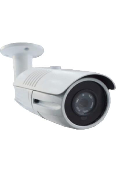 QROMAX PRO 4142 5' li 5 Megapiksel SONY LENS 1080P Aptina Sensör Metal Kasa Güvenlik Kamerası Seti