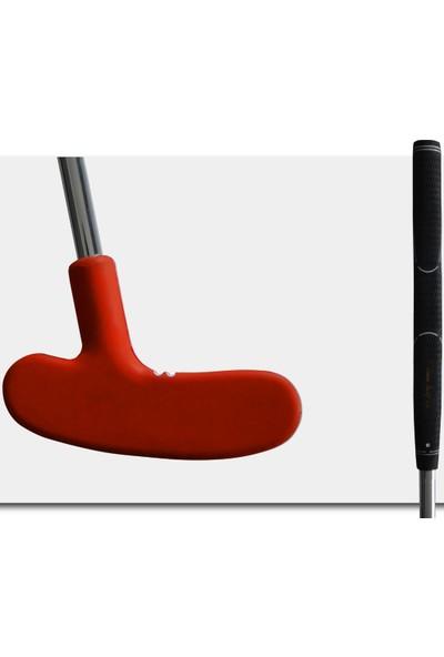 MiniGolf35 Kauçuk Golf Sopası Putter - Kırmızı