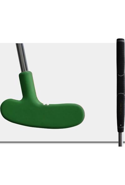 MiniGolf35 Kauçuk Golf Sopası Putter- Yeşil