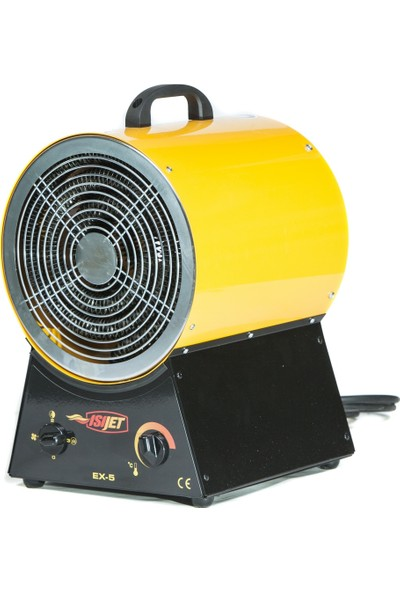 Isıjet Ex5 Fanlı Elektrikli Isıtıcı 5KW-220V