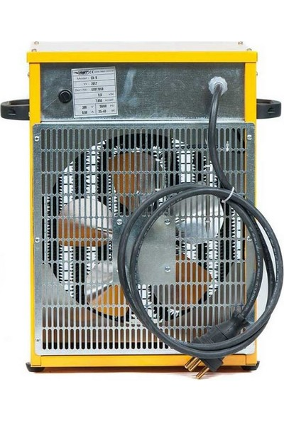 Isıjet Ex9 Fanlı Elektrikli Isıtıcı 9KW-380V