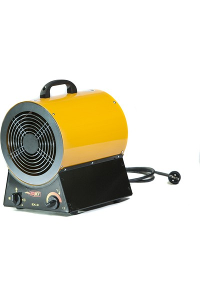Isıjet Ex3 Fanlı Elektrikli Isıtıcı 3KW-220V