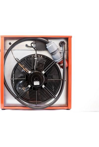 Makrofer Makro5 Fanlı Elektrikli Isıtıcı 5kw 220V