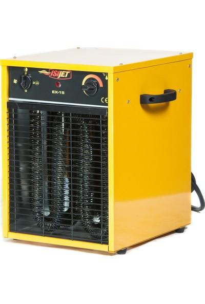 Isıjet EX15 Fanlı Elektrikli Isıtıcı 15KW-380V