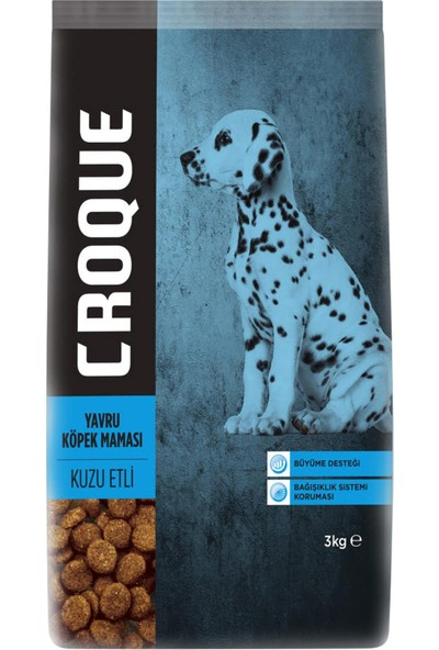 Croque Yavru Köpek Maması 3 kg