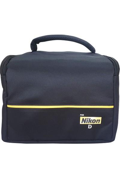 Haskan Nikon D5100 Fotoğraf Makinesi İçin Profesyonel Set Çanta