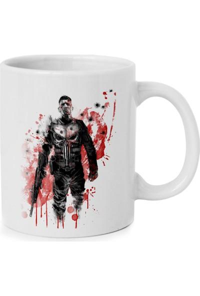 Anı Diyarı Punisher - Cezalandırıcı Baskılı Kupa Bardakk