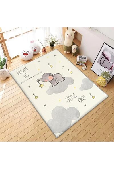 Soho Buluttaki Yavru Fil Çocuk Odası Halısı 50 x 80 cm
