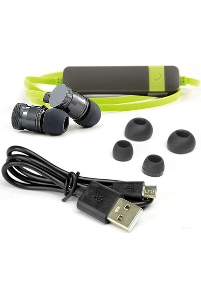 Verbatim Mikrofonlu Bluetooth Kulakiçi Spor Kulaklık